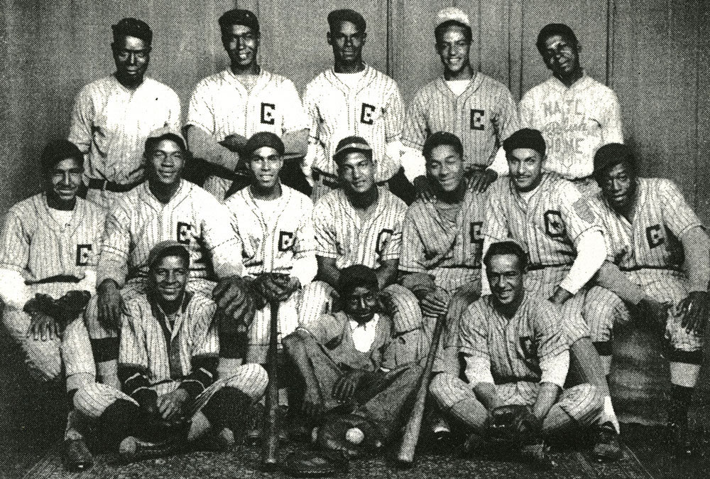The Chatham Coloured All-Stars are pictured in their 1934 Championship photo.