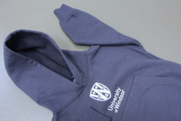 Child's hooded sweatshirt