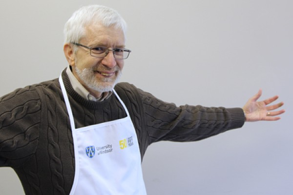 Neil Musson modelling apron