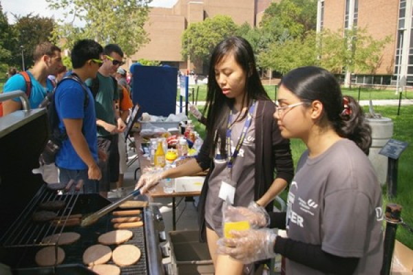 The campus community is invited to attend the annual Campus Community BBQ, Wednesday, September 9.