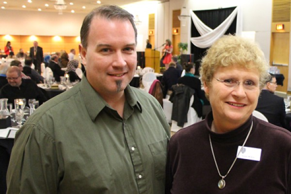 Martin Vaughan and Susan McKee