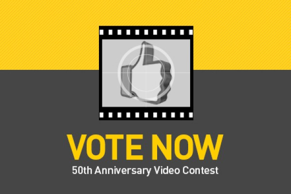 Vote now logo