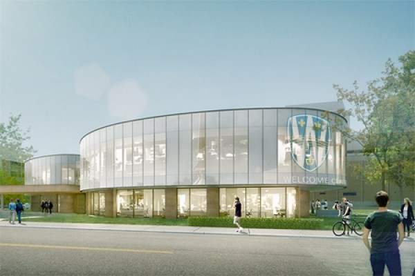 Artist's rendering depicts the Welcome Centre