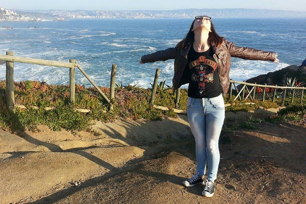 Arianne Rodriguez Saltron revels in her experience while on exchange in Chile.
