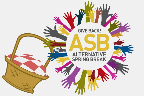 Alternative Spring Break logo holding picnic basket