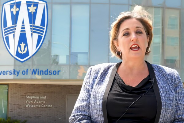 Beth Ann Prince, president of the University of Windsor Alumni Association