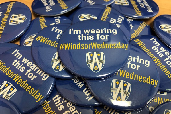 Windsor Wednesday buttons