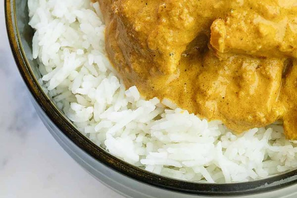 dish of chicken korma