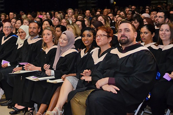 graduands at Convocation