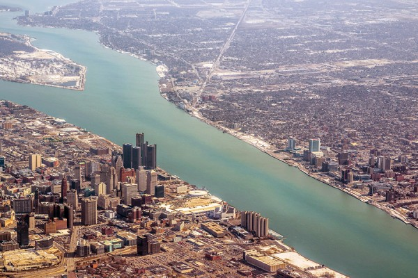 photo of Detroit River