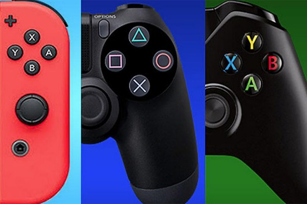 game console controllers
