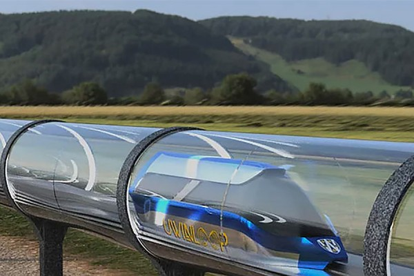 hyperloop concept drawing