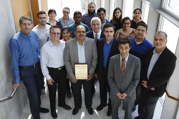 University of Windsor faculty and students constitute the majority of the local section of the Institute of Electrical and Electronics Engineers.