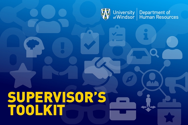 graphic labelled Supervisor's Toolkit