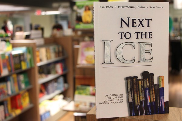 "book cover: ""Next to the Ice"""