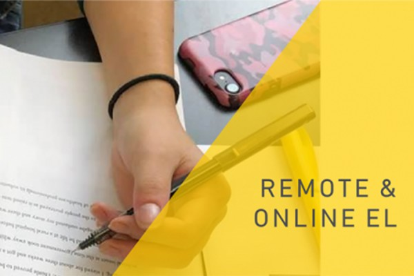 banner promoting Remote and Online Experiential Learning