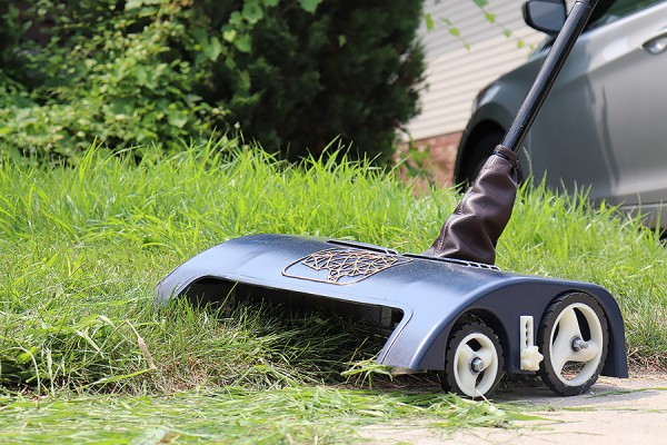the Secara lawnmower