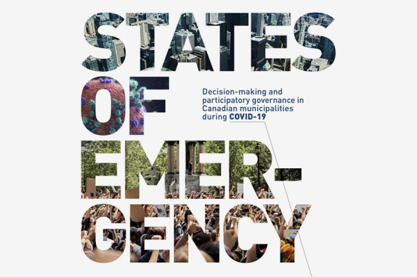 Report cover: States of Emergency