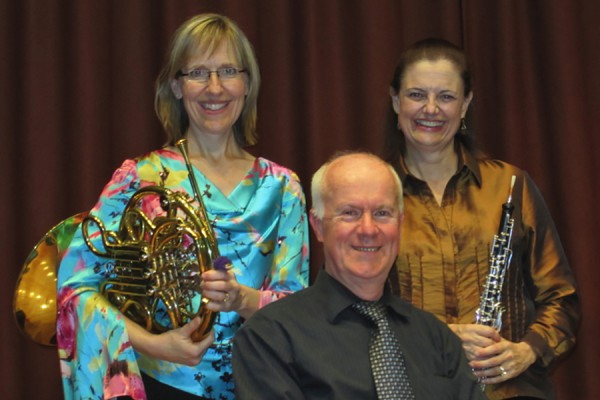 Denise Root-Pierce, David Palmer, and Geralyn Giovannetti