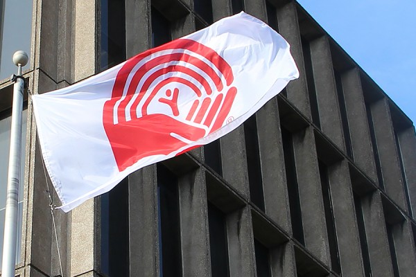 United Way flag