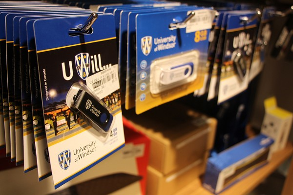 UWindsor flash drives in packaging