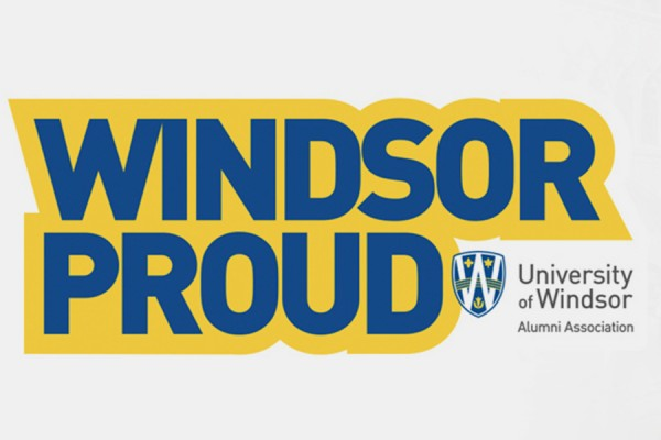 Windsor Proud window decal