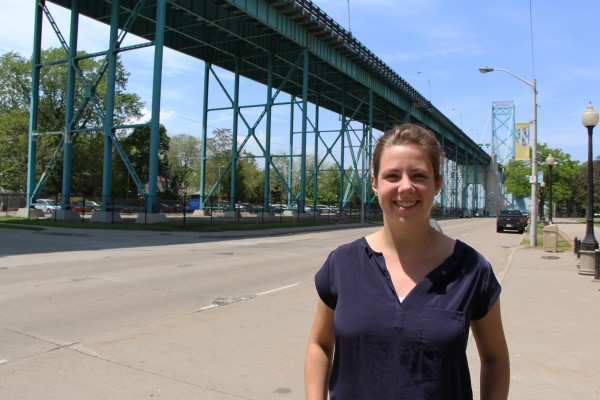 Masters graduand Sarah Cipkar's study looks at equitable transit for Detroiters.