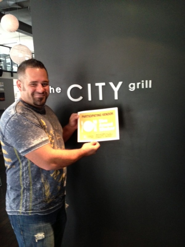 Matt Kosma of The City Grill is ready to welcome 50th Anniversary visitors