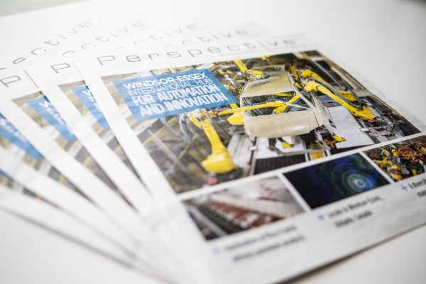 The 2018 Perspective Magazine features automotive research from the University of Windsor's Faculty of Engineering.