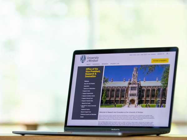 The UWindsor research website has moved — make sure your hyperlinks to it still work.