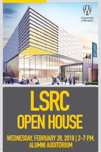 LSRC Open House promo graphic